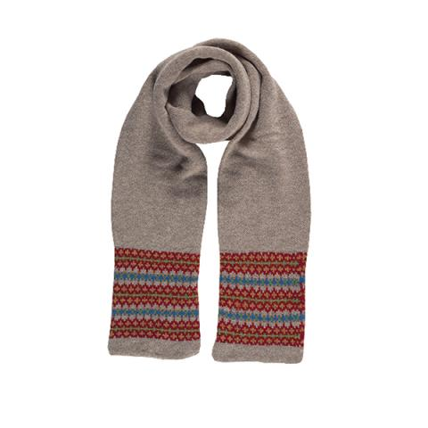100% pure new wool Lewis manilla scarf