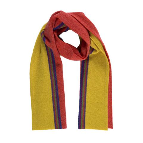 100% pure new wool maxwell blaze scarf