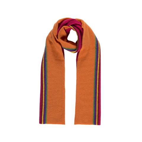 100% pure new wool maxwell cherry scarf