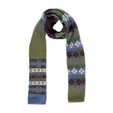 100% pure new wool Lennox juniper scarf