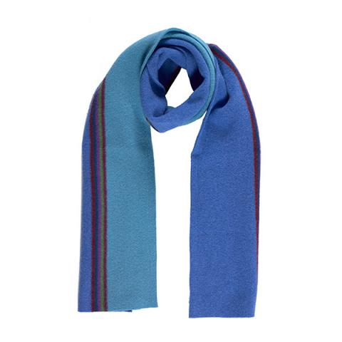 100% pure new wool maxwell sapphire scarf