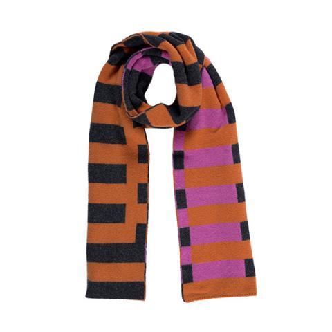 100% pure new wool Bauhaus heatwave scarf
