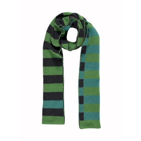 100% pure new wool Bauhaus lagoon scarf