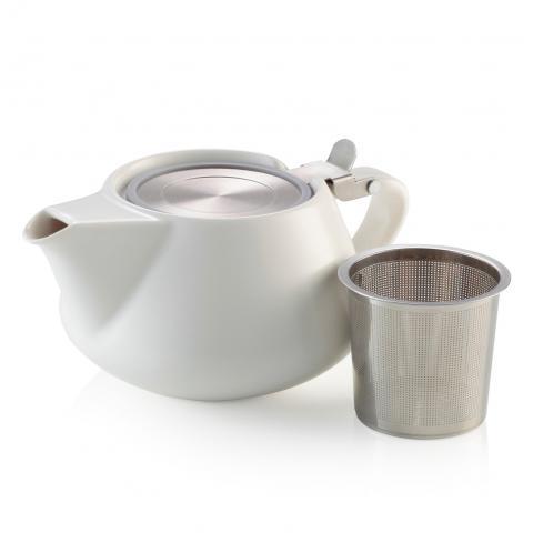 Alison Appleton Fritz Teapot White