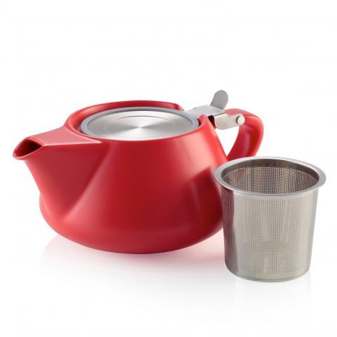 Fritz red porcelain teapot