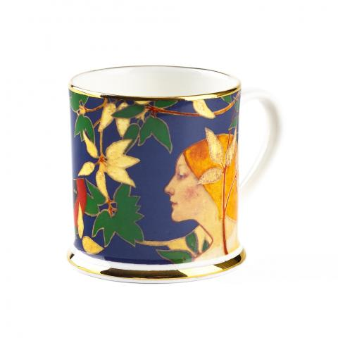 The Hunt Nymph Blue Espresso Tankard
