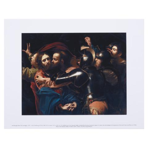The Taking of Christ Caravaggio Art Print