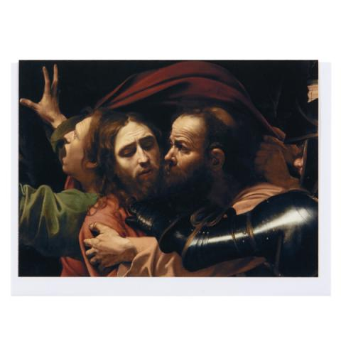 The Taking of Christ Caravaggio Greeting Card