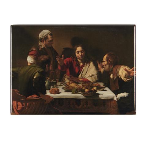 Supper at Emmaus Caravaggio Magnet