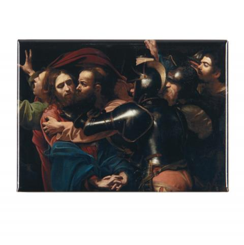 The Taking of Christ Caravaggio Magnet