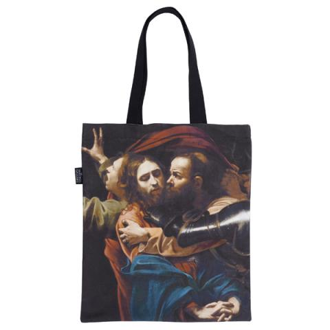 The Taking of Christ Caravaggio Tote Bag