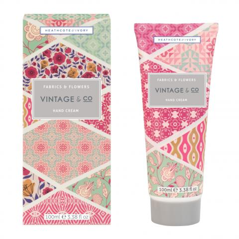 Vintage & Co Fabrics & Flowers Hand Cream