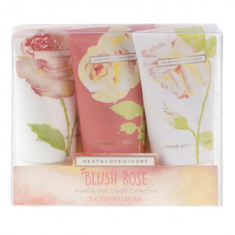 Blush Rose Hand & Nail Cream Collection Box