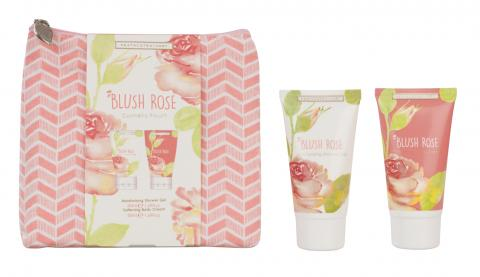 Blush Rose Cosmetic Pouch