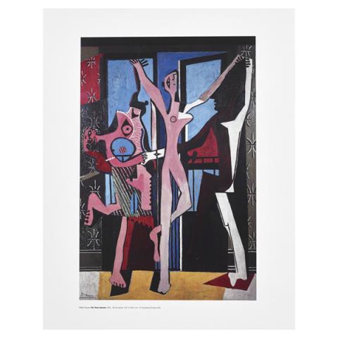The Three Dancers Pablo Picasso Art Print