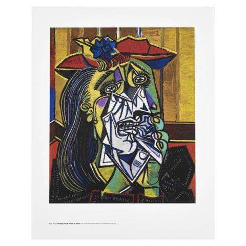 Weeping Woman Pablo Picasso Art Print