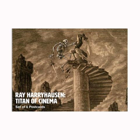 Ray Harryhausen Titan of Cinema postcard pack