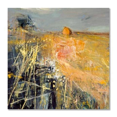 Summer Fields by Joan Eardley greeting card
