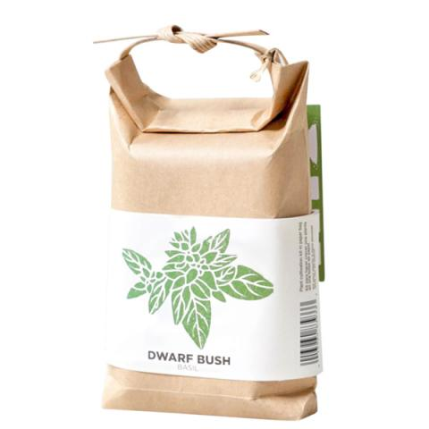 Cultivate and eat dwarf bush basil