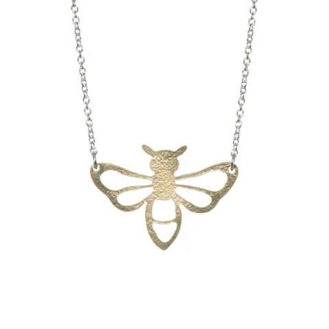Coralie bee statement necklace by Just Trade