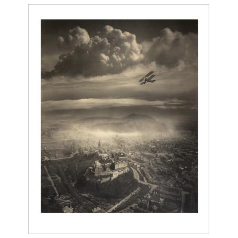 Aerial View of Edinburgh Alfred Buckham Art Print