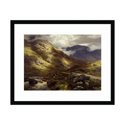 Wandering Shadows by Peter Graham (30 x 40 cm) framed print