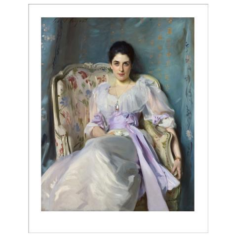 Lady Agnew of Lochnaw John Singer Sargent Art Print