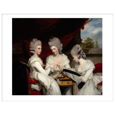 The Ladies Waldegrave Sir Joshua Reynolds Mini Print