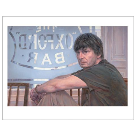 Ian Rankin Guy Kinder Art Print
