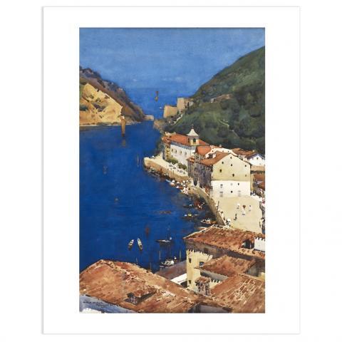 The Sapphire Sea Arthur Melville Art Print