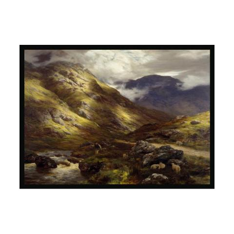 Wandering Shadows by Peter Graham ready to hang (60 x 80 cm) framed canvas