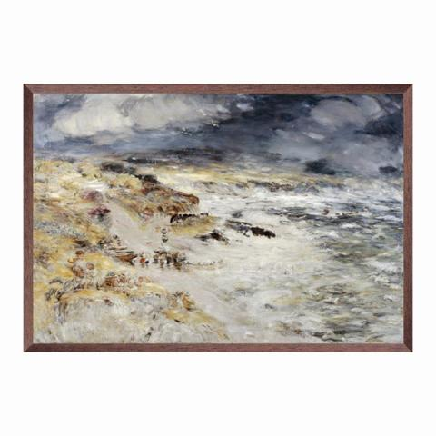 The Storm by William McTaggart ready to hang canvas print (80 cm width)