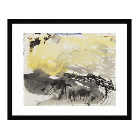 Row of Cottages by Joan Eardley ready to hang (40 cm) framed art print