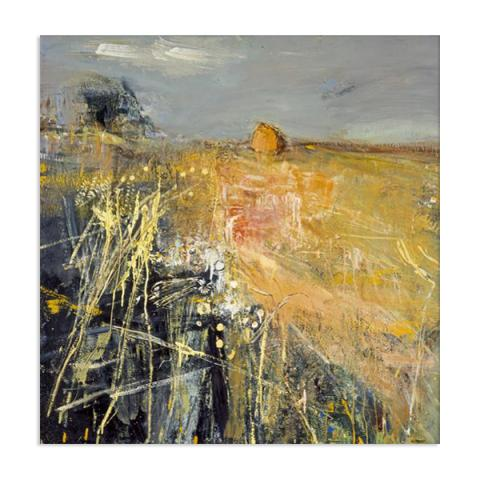 Summer Fields by Joan Eardley (60 cm) stretched canvas