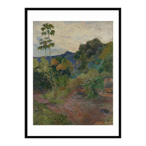 Martinique Landscape by Paul Gauguin (70 x 100 cm) framed print