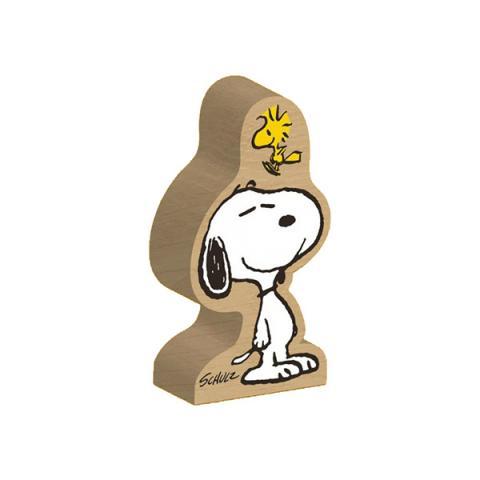 Snoopy & Woodstock Peanuts wooden block figure