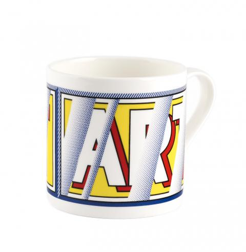 Reflections: Art Roy Lichtenstein Mug
