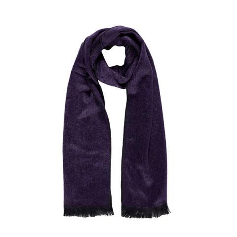 Purple heather alpaca scarf
