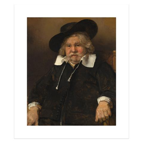 Portrait of an Elderly Man by Rembrandt poster print