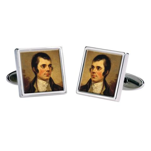 Robert Burns by Alexander Nasmyth cufflinks