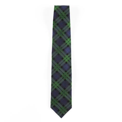 National Galleries of Scotland exclusive tartan silk tie