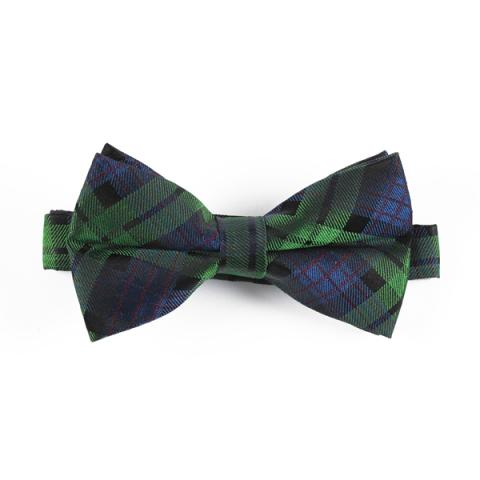 National Galleries of Scotland exclusive tartan silk bow tie
