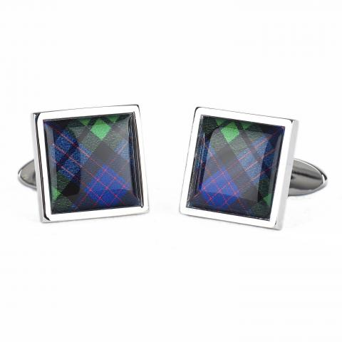 National Galleries of Scotland Tartan Cufflinks