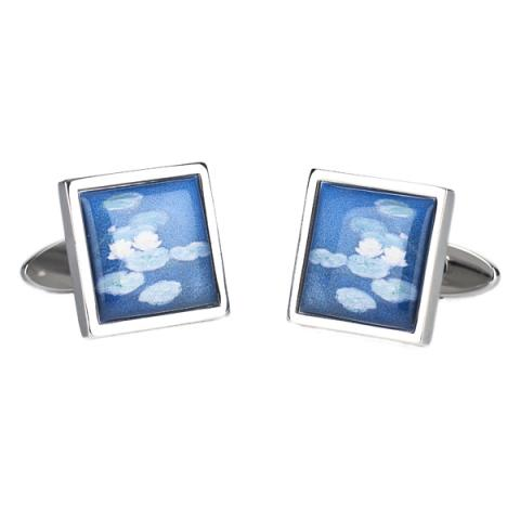Water Lilies Claude Monet Cufflinks