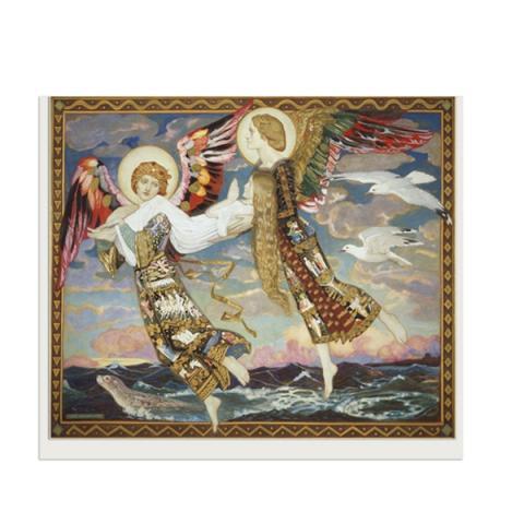 Saint Bride John Duncan Greeting Card
