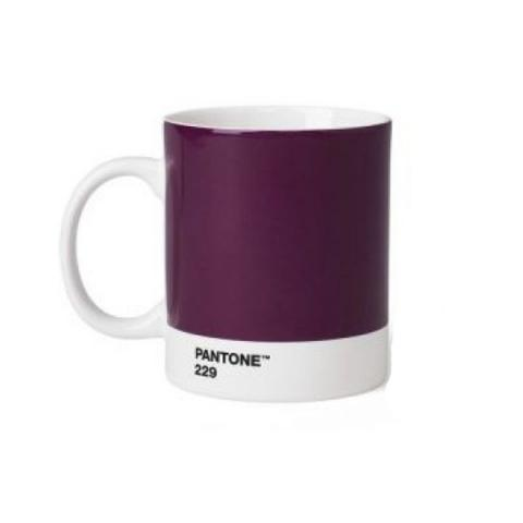 Aubergine Pantone 229 ceramic mug