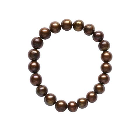 The Real Pearl Brown Pearl Bracelet