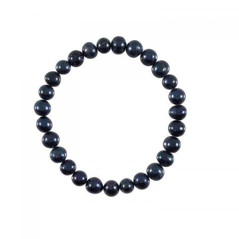 Black pearl bracelet