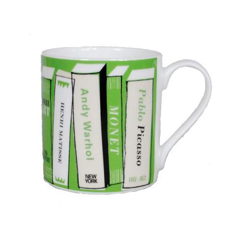 Gallery green books mug