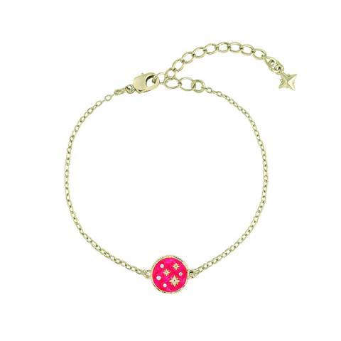 Swarovski crystal pink star bracelet